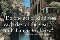 365 days of kindness