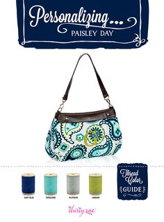 Personalizing...Paisley Day!