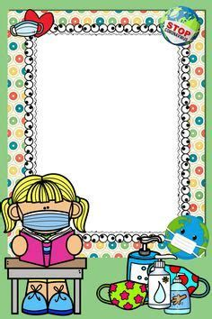 Art Drawings For Kids, Drawing For Kids, Kids Art Class, Art For Kids, Floral Wallpaper Phone, All About Me Printable, Powerpoint Background Templates, School Border, Boarders And Frames