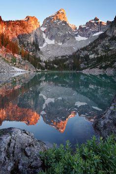 ✯ Grand Teton Sunrise Reflection, Tetons, Wyoming