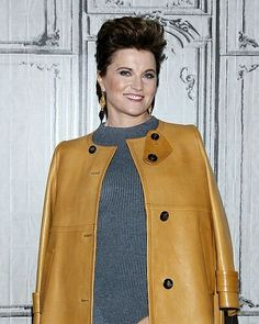 Lucy Lawless attends The Build Series to discuss 'Ash vs. Evil Dead' at AOL