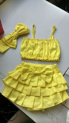 {Standard and tailored made baby housecoat, offers the best answer. Girls Frock Design, Kids Frocks Design, Baby Frocks Designs, Baby Dress Design, African Dresses For Kids, Little Girl Outfits, Little Girl Dresses, Kids Outfits, Baby Girl Dress Patterns