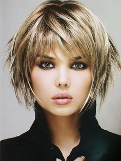 Short Layered Haircut For Fine Hair hair frisuren 20 Gorgeous Layered Hai. Short Layered Haircut For Fine Hair hair frisuren 20 Gorgeous Layered Hairstyles & Haircuts Short Shag Hairstyles, Short Layered Haircuts, Haircuts For Fine Hair, Haircuts With Bangs, Hairstyles Haircuts, Short Layered Bobs, Choppy Bob Hairstyles For Fine Hair, Short Stacked Hair, Short Shaggy Bob