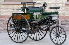 Replica Benz Patent-Motorwagen No. 3, similar to the one Bertha Benz drove in August 1888.n August 1888, Bertha Benz, the 39-year-old wife of German engineer Karl Benz, made history when she became the first person to complete a long-distance trip by automobile.