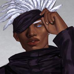 Black Anime Guy, Black Girl Cartoon, Black Girl Art, Art Girl, Character Art, Character Design, Arte Black, Black Cartoon Characters, Black Art Pictures