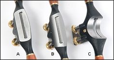 Veritas® Flat, Round and Concave Spokeshaves - Woodworking