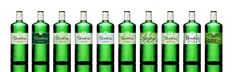 Limited edition Gordons Gin bottles designed by Conran