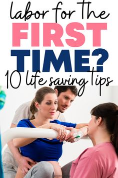 Get 10 life-saving tips for childbirth when you go into labor for the first time pregant. Third trimester preganncy and now you have to learn about giving birth for the first time. #childbirth #pregnancy Pregnancy Advice, First Pregnancy, Babies First Year, First Time Moms, Prepare For Labor, Baby On A Budget, Second Trimester, Breastfeeding And Pumping, Baby Shower Gender Reveal