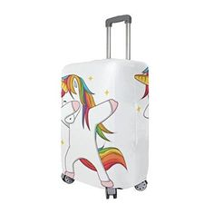 3c0ecb869 Unicorn Dubbing White Suitcase Cover - All Things Unicorn Luggage Cover,  Travel Luggage, Luggage
