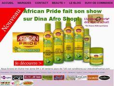 Nouveauté sur www.dinafroshop.com vente de produit cheveux afro