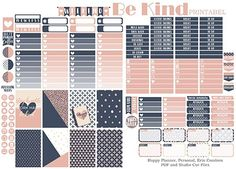 Hey Planner Girls, Hope you enjoy this week's printable. I did create pdf and cut files for the ECLP, Happy Planner and Personal Size. Enjoy!  You know the drill..they are ONLY for pers…
