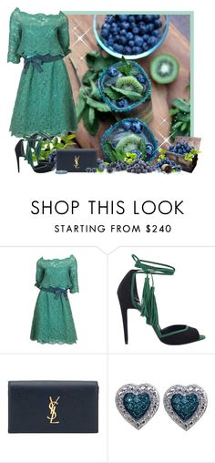 """""""BLUEBERRY IN BACKGROUND - Contest!"""" by asia-12 ❤ liked on Polyvore featuring Christian Dior, Pierre Hardy, Yves Saint Laurent and Blue Nile"""