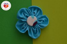 Blume aus Stoff @kreativgraz