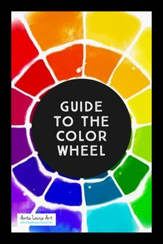 Beginner Artists Guide to the Color Wheel and Paint Colors - Anita Louise Art Art Journal Prompts, Art Journal Techniques, Art Journal Pages, Art Journaling, Drawing Tutorials For Beginners, Art Tutorials, Drawing Lessons, Art Lessons, Social Media Art