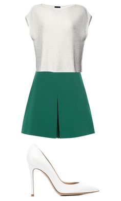 """""""Untitled #235"""" by rainbowunicornninga10 ❤ liked on Polyvore featuring Valentino, ATM by Anthony Thomas Melillo and Gianvito Rossi"""