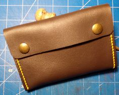 Handmade leather tobacco pouch Leather pipe tobacco pouch