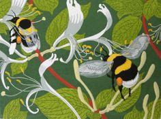 ≗ The Bee's Reverie ≗ Bee Art - Robert Gillmor