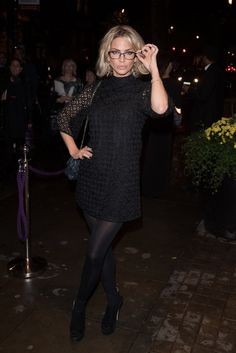 Sarah Harding at Specsavers' Spectacle Wearer of the Year