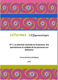 Teresa Martínez estrena la serie Informes ACP Gerontología