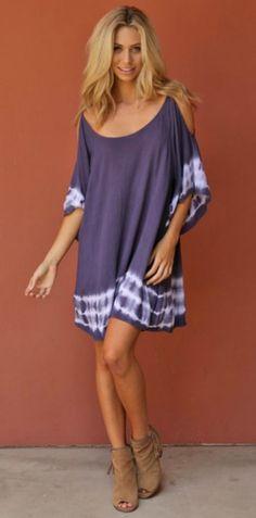 Gauzy Boho Tunic Dress. Perfect for summer!