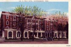 JAK. K. POLK HOTEL MURFREESBORO, TN 1941