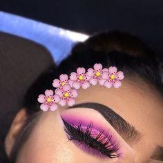 Cute eye make up Makeup On Fleek, Flawless Makeup, Cute Makeup, Glam Makeup, Pretty Makeup, Makeup Inspo, Skin Makeup, Makeup Art, Makeup Inspiration