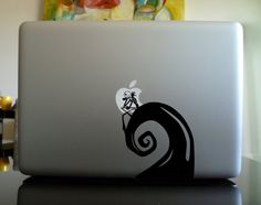 Macbook Decal sticker / Laptop Decal sticker - Nightmare Before Christmas