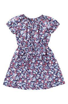 Mini Boden 'Retro' Print Dress