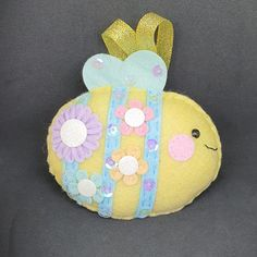 Seasonal Decor, Holiday Decor, Felt Gifts, Cute Creatures, Easter Gift, Small Businesses, All The Colors, Decorative Items, Bees