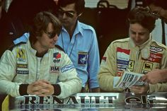 rene arnoux 1980   Gilles Villeneuve Rene Arnoux GP Deutschland 1980 Ferrari
