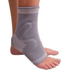 d773cdf6e9 Amazon.com: MEDIZED Ankle Brace with Gel PAD Compression Support Sleeve for  Athletics, Injury Recovery, Joint Pain. Plantar Fasciitis, Eases Swelling,  ...