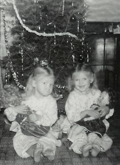 A Vintage picture of my sisters that I love dearly!! Www.creativeworksoflindaclark.com