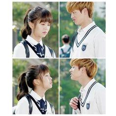 Eun Bi - Tae Kwang Drama Korea, Korean Drama, Kdrama, Who Are You School 2015, Sung Jae, Sungjae Btob, Kim Sohyun, Drama School, Joo Hyuk