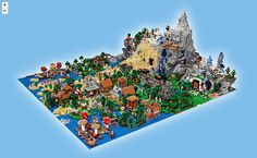 LEGO tease l'arrivée du plus gros set LEGO Minecraft jamais sorti - New Ideas Lego Minecraft, Minecraft Ender Dragon, Minecraft Crafts, Minecraft Houses, Minecraft Skins, Minecraft Videos, Minecraft Bedroom, Lego Disney, Shopping