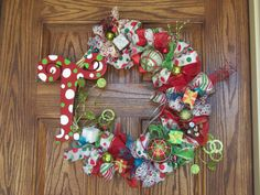 I love these wreaths