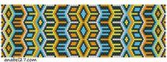 2 Mosaic Peyote Beadwork Patterns  #heartbeadwork