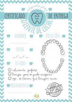 CERTIFICADO imprimible del ratoncito perez para sorprender a los niños. Diy And Crafts, Crafts For Kids, Baby Scrapbook, Tooth Fairy, Free Printables, Bullet Journal, Teaching, Lettering, How To Plan