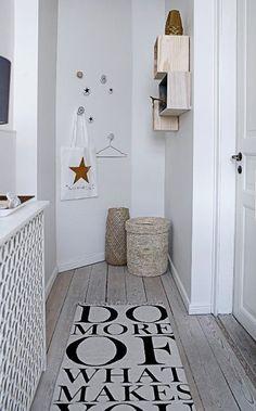cmo decorar pasillos estrechos