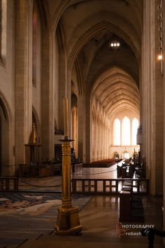 Guildford Cathedral Interior-1 by Probash Chowdhury on 500px