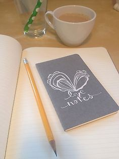 One way I invite in more gratitude is by keeping a little journal of love letters. Click through to read more about this idea and a few other gratitude practices you can start today.