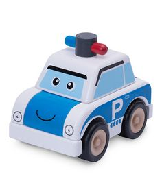This Build-A-Police-Car Set by Wonderworld is perfect! #zulilyfinds