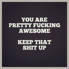 these were just the words i needed to hear to today Great Quotes, Quotes To Live By, Funny Quotes, Inspirational Quotes, You Are Awesome Quotes, Motivational Quotes, The Words, Just In Case, Just For You