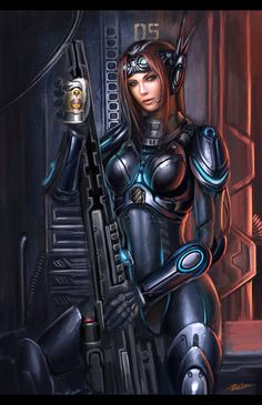 Sarah Kerrigan by ZeroNis on DeviantArt - Starcraft Kerrigan Sarah Kerrigan, Kerrigan Starcraft, Starcraft 2, Wolf, Warrior 1, Stars Craft, Space Girl, Sci Fi Characters, Shadowrun