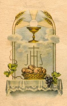 La Primera Comunion Catolica | Estampas de primera comunión  m