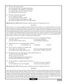 NIFT Test series: Sample GAT paper of fashion design1 Sample Question Paper, Sample Paper, Fashion, Moda, Fashion Styles, Fashion Illustrations