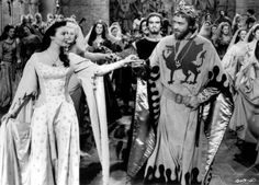 """Ava Gardner and Mel Ferrer in """"Knights of the Round Table"""""""