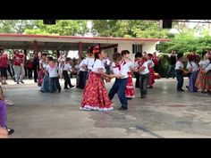 "Easy folklorico dance for Kindergarten or 1st grade. ""La Raspa"" video on Youtube."