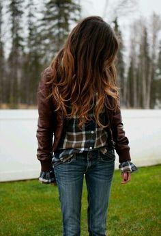 Morenas e o ombré hair Ombré Hair, Hair Dos, New Hair, Caramel Ombre Hair, Cozy Fall Outfits, Mein Style, Great Hair, Look Chic, Pretty Hairstyles