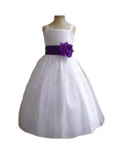 Classykidzshop White Satin Flower Girl Dress with Purple Sash - 4T Classykidzshop,http://www.amazon.com/dp/B0083FIFKG/ref=cm_sw_r_pi_dp_uSh8rb0MZK9J985X