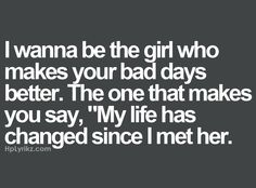 Be that girl :) that influence others for the good .........Be different  xo
